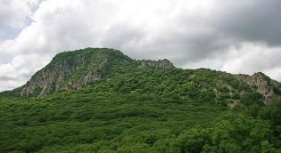гора развал или спящий лев - Железноводск