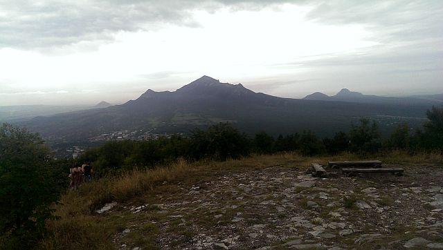 Горы Бештау. Вид с горы Машук. Пятигорск.