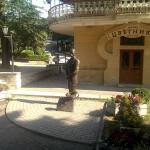 Парк – Цветник. Здесь стоял с протянутой рукой Киса Воробьянинов.