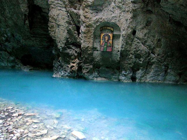 Пятигорск. Подземное озеро Провал.