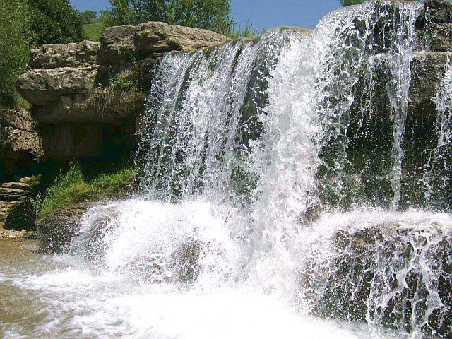 Водопад в долине Очарования.