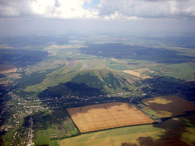 Современные поселения возле горы Джуца