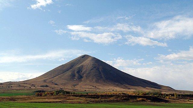 Гора Юца 2 или Джуца 2-я, Кавказские Минеральные воды.
