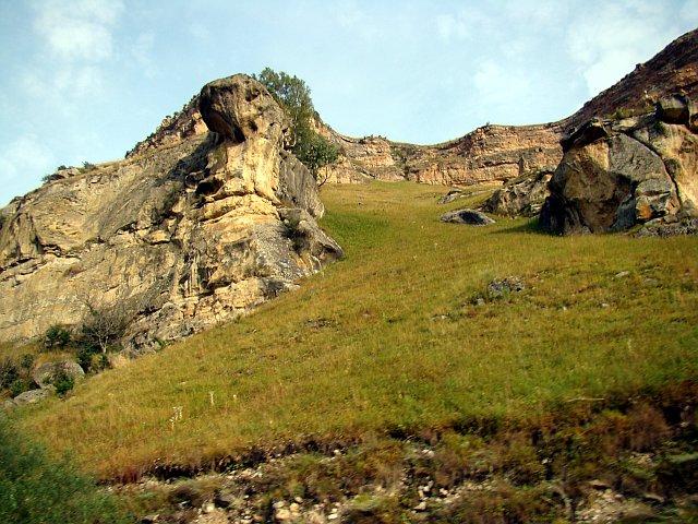 Дорога к горе Кольцо