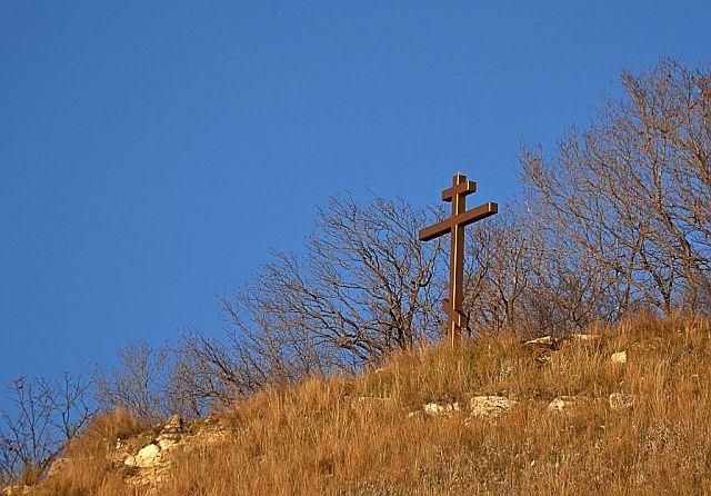 Крест на Лысой горе.