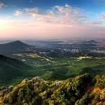Горы-лакколиты Пятигорья - Острая, Тупая, Медовая. Медведь-гора.