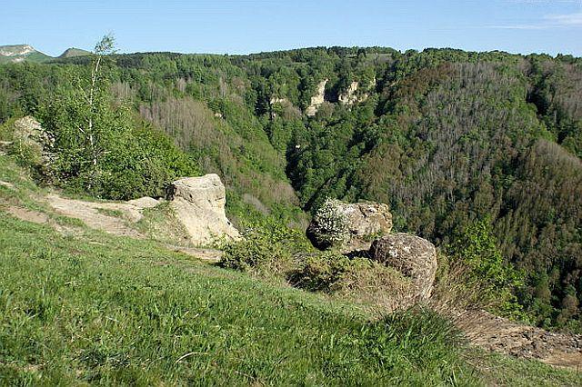 Вид на гору Малое Седло