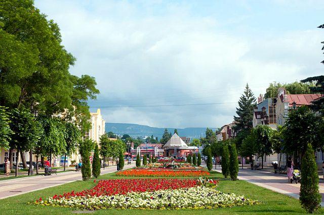 Кисловодск, центра города.