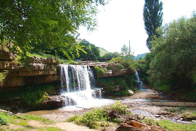 Лермонтовский водопад.