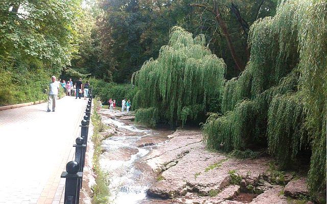 Река Ольховка – Кисловодск.