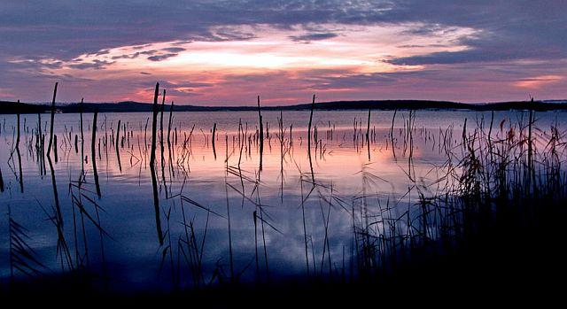 Паводок на озере Тамбукан.