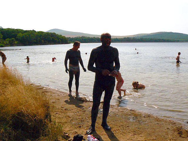 Отдых и лечение на озере Тамбукан.