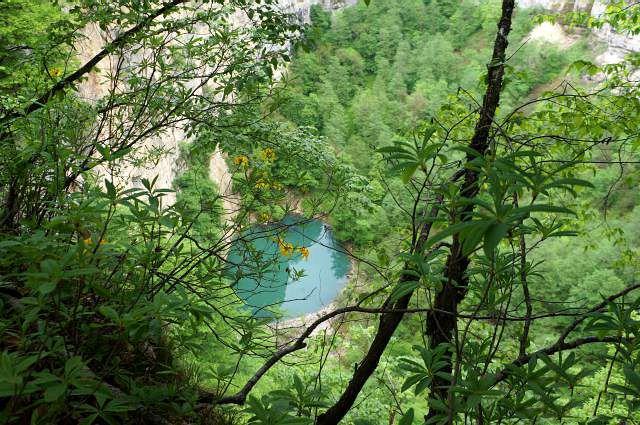 Голубое озеро Кель Кетчхен