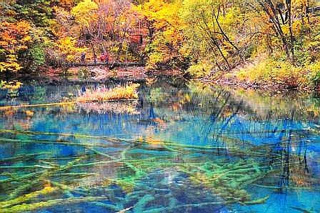 Озеро пяти цветов, почему оно меняет цвет и не замерзает