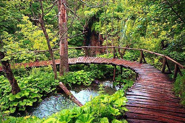 Туристические тропы к Плитвицким озерам Хорватии