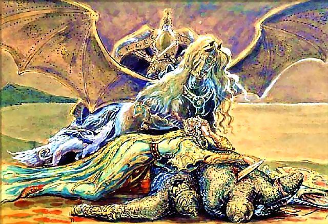 Эпос народов Кавказа - легенда о гибели Нартов