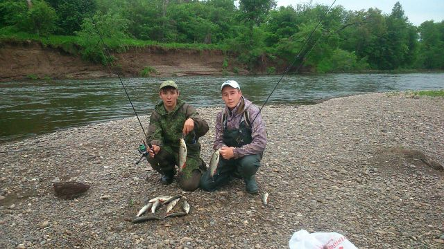 Рыбалка на реке Ирень.